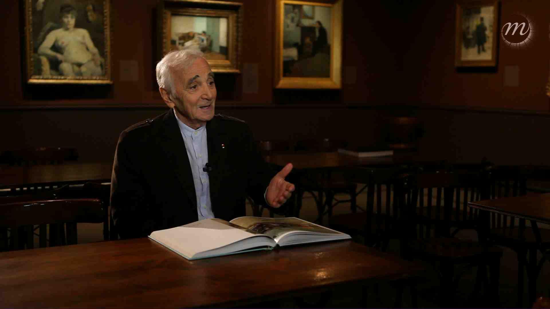 Rencontre avec Charles Aznavour